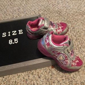 Stride Rite Disney Princess Light Up Shoes 8.5